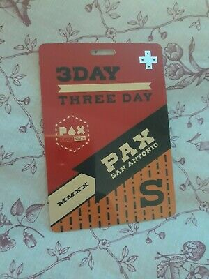 Pax South 3 Day Pass