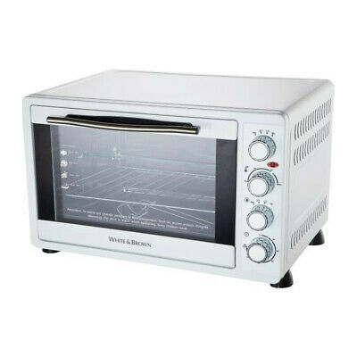 WHITE & BROWN MF 63-Mini four-55 L-2200 W-Voûte, sole ou convection-Rotissoire e