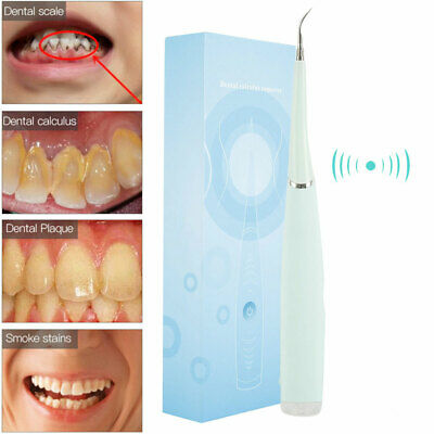 Waterproof IPX6 Ultrasonic Electric Tooth Cleaner Oral Teeth Dental Cleaning New