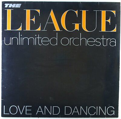 "12"" LP - The League Unlimited Orchestra - Love And Dancing - L5807 - cleaned"