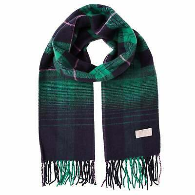 Joules Bracken Womens Accessory Scarf - Navy Ombre Check One Size