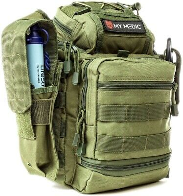 NEW My Medic Recon Advanced Emergency First Aid Kit Green
