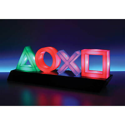 Playstation Icons Neon Lights LAMP Ps4 Home Decoration