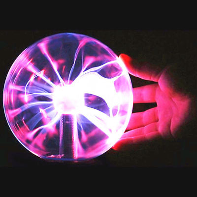 USB Plasma Ball Sphere Light Magic Crystal Lamp Desktop Globe Laptop Decor