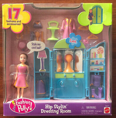 Fashion Polly Hip Stylin Dressing Room Lea MATTEL