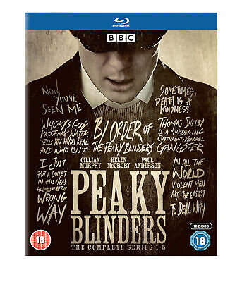 Peaky Blinders : The Complet Série 1-5 Coffret Blu-Ray Neuf Région B