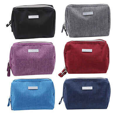 Makeup Travel Cosmetic Bag Pouch Toiletry Zip Wash Organizer Case Storage CP