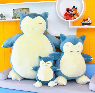 Stuffed Soft Pokemon Character Snorlax Plush Doll Christmas Collection Toys 30cm