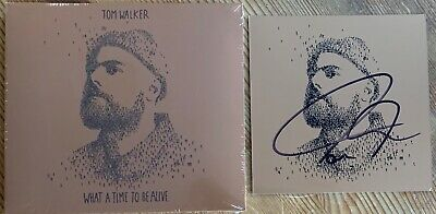 Tom Walker What A Time To Be Alive Deluxe Cd Album + Signed Insert New Sealed