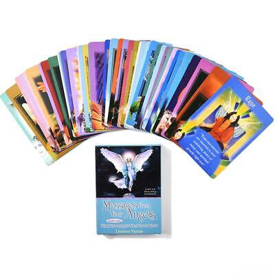 44pcs Angel Tarot Messages From Your Angels What Your Angels Oracle Card English