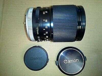 CANON FD 135 mm f/2.5 S.C. - Excellent conditions - TESTED