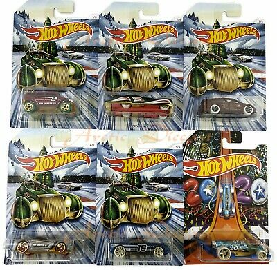 Hot Wheels 2019 Holiday Hot Rods Happy New Year Carbonator Walmart Exclusive Set