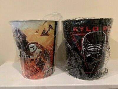 Star Wars The Rise Of Skywalker Popcorn Tin Buckets - Set of 2
