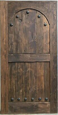 """Rustic reclaimed solid lumber barn door 41 X 80  1-3/8"""" thick 70+ year old wood"""