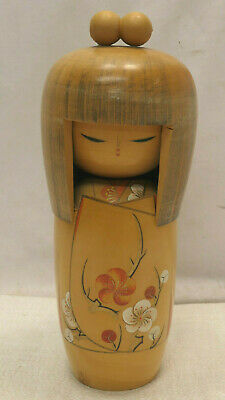 Kokeshi Creative Style Wooden Japanese Doll Handpainted Wood Vintage  #588