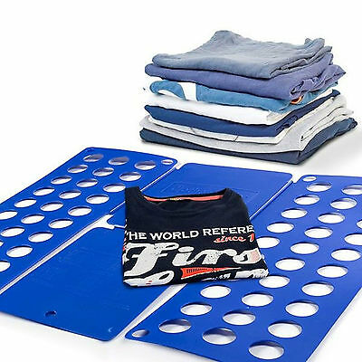 Clothes Quick Folding Board T-Shirts Fast Folder Laundry Storage Organizer Magic