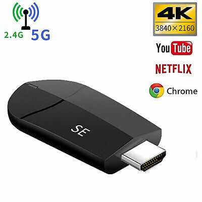 4K WiFi Dongle Adapter HDMI TV Wireless Display DLNA Miracast Airplay 1080p UK
