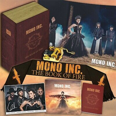 MONO INC. The Book of Fire LIMITED CD+DVD FANBOX 2020