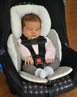 Baby Newborn Car Seat Stroller Liner Head Body Support Cushion Pad Pillow Mat
