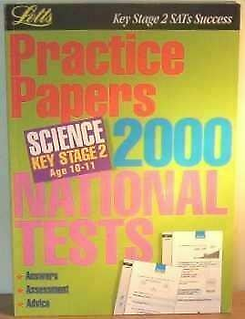 Bob McDuell, Key Stage 2 SATs Success: Practice Papers 2000 National Tests - Sci