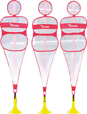 Precision Football Equipment Coaching Training Pop-Up Set Of 3 Mannequin Only