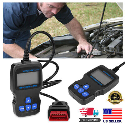 Hand-Held CAN OBD2 EOBD Engine Code Reader Auto Car Diagnostic Scan Tester Check
