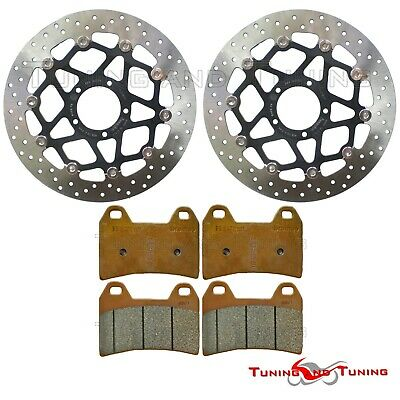 Disques frein avant BREMBO+Plaquettes GENUINE DUCATI MONSTER 796 ABS 2010 > 2012