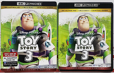 TOY STORY 3 4K Ultra HD Blu-ray 3-Disc Ultimate Collector's Edition w/ Slipcover