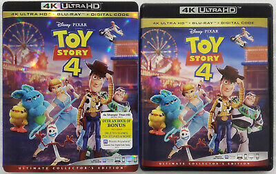 TOY STORY 4 4K Ultra HD Blu-ray Ultimate Collector's Edition 3-Disc w/ Slipcover