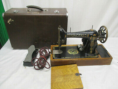 Vintage Singer Sewing Machine - Converted to Electric