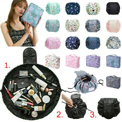 Cosmetic Bag Magic Drawstring Lazy Makeup Bags Waterproof Travel Toiletry Pouch