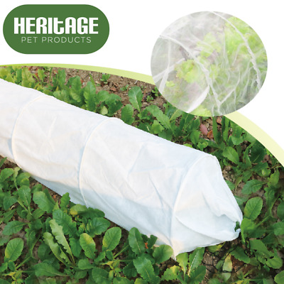 Heritage 3M Fleece Grow Tunnel Cover Garden Veg Plant Protection Insect Cloche