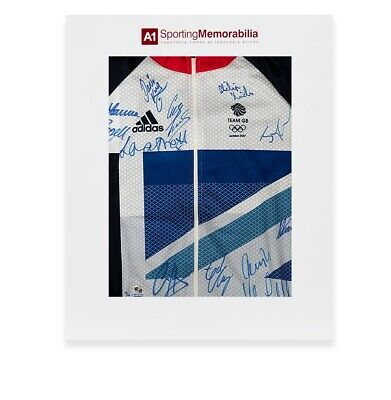 Team GB Signed London 2012 Olympic Cycling Jersey Limited Edition /40 - Gift Box
