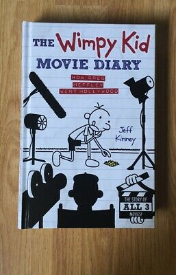 The Wimpy Kid Movie Diary By Jeff Kinney (Hardback)