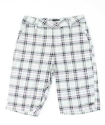 "O/'Neill Boys Delta Plaids /& Checks 18/"" Casual Chino Shorts Sz 26"