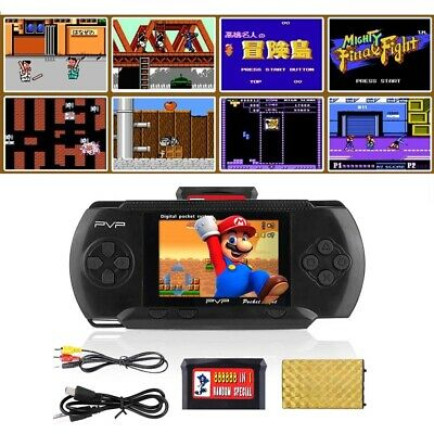 Pvp 3000 Handheld Portable Retro Video Game Console 8 Bit Kid Player Toys