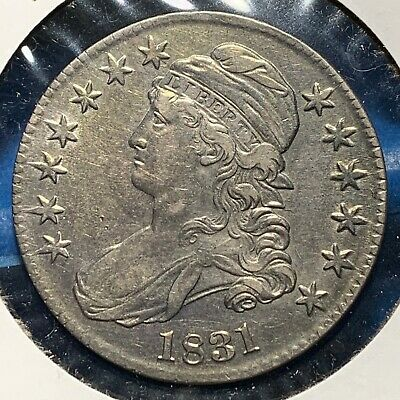 1831 50C Capped Bust Half Dollar (53640)