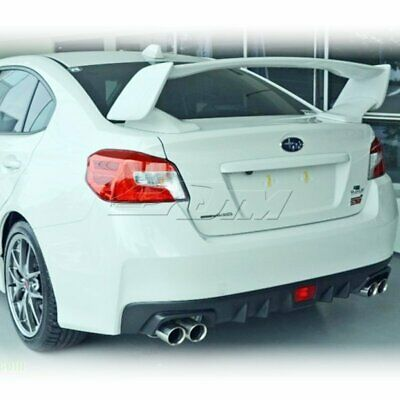 STI EXTREME ROOF SPOILER ABS WING 2015-2017 PAINTED SUBARU WRX