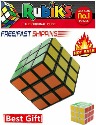 Third-Order Smooth Speed Magic Rubiks Cube Puzzle Easy Twist Educational Toys oS