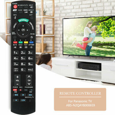 New For Panasonic TV Remote N2QAYB000496 Replaced sub N2QAYB000496 Replacement