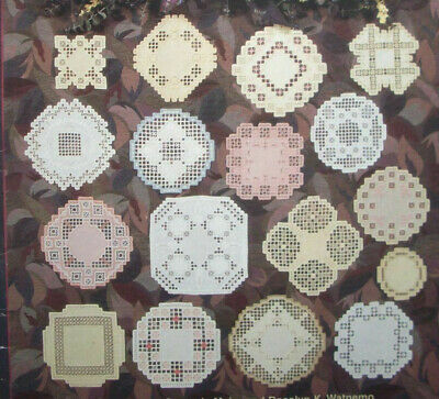 Wee Ones hardanger embroidery pattern doily doilies