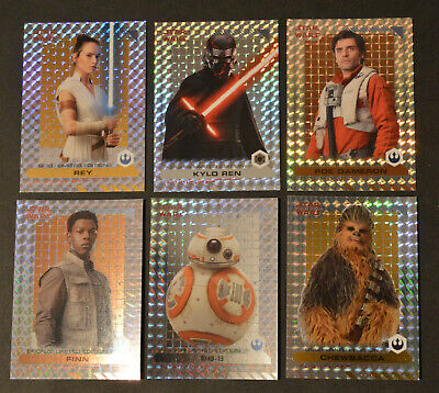 Topps STAR WARS THE RISE OF SKYWALKER Movie | select > Limited Edition cards