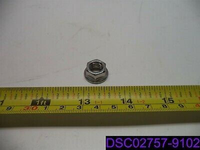 """Qty = 1,000: 3/8""""-16 Stainless Steel Locking Flange Nut"""
