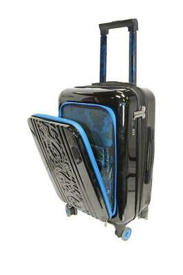 """New with Tag - $398 Robert Graham Straton 20"""" Carry-On Spinner Black Suitcase"""