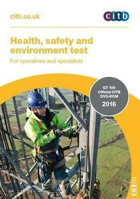Health, Safety and Environment Test for Operatives and Specialists: GT 100 2016,