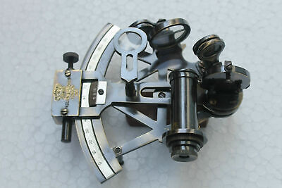 Nautical Brass KELVIN & HUGHES Sextaant HANDMADE Vintage Beautiful SEXTANT DECOR
