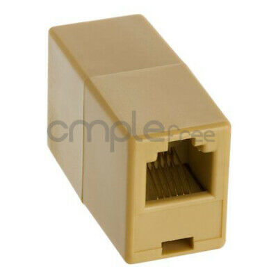 RJ11 RJ12 6P6C Telephone Line Cable Cord Coupler Extender Connector Joiner
