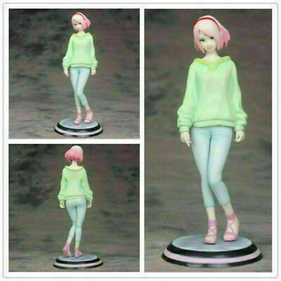 Anime Naruto Shippuden Gals Haruno Sakura Splash Ver Statue Figure Toy No Box