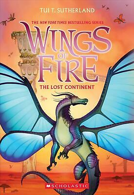 Lost Continent (wings of Fire, Book 11) by Tui T. Sutherland (English) Paperback