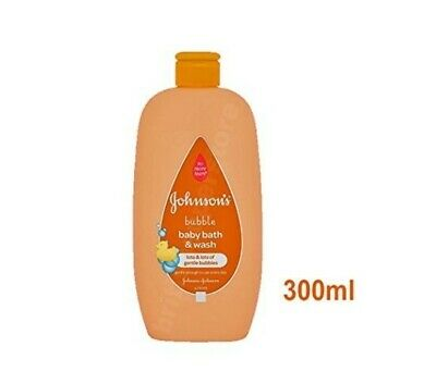 Johnson's Baby Bubble Bath & Wash Gentle 2 In 1 Soap And Dye Free 300ml 21-10